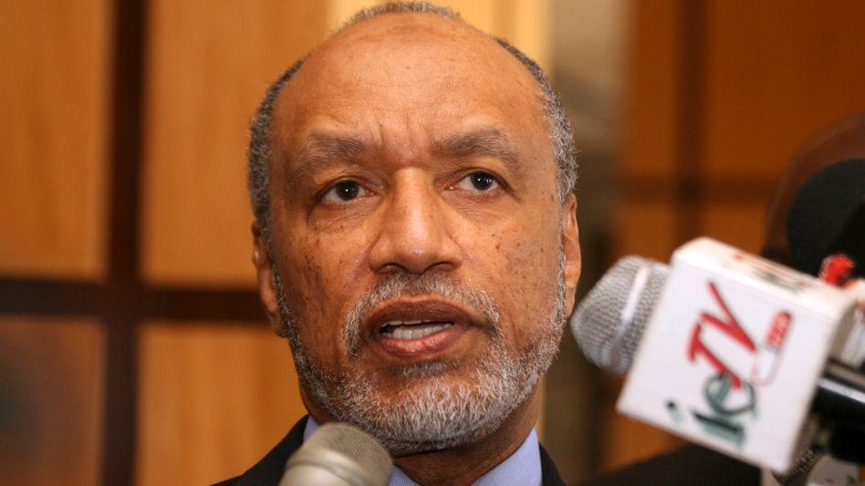 Ehemaliger Fifa-Funktionär Bin Hammam (Archivbild): Derzeit von der Fifa gesperrt