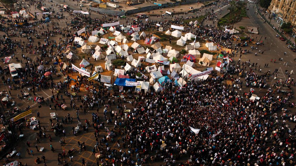 Photo Gallery: Egyptian Protests Gather Steam