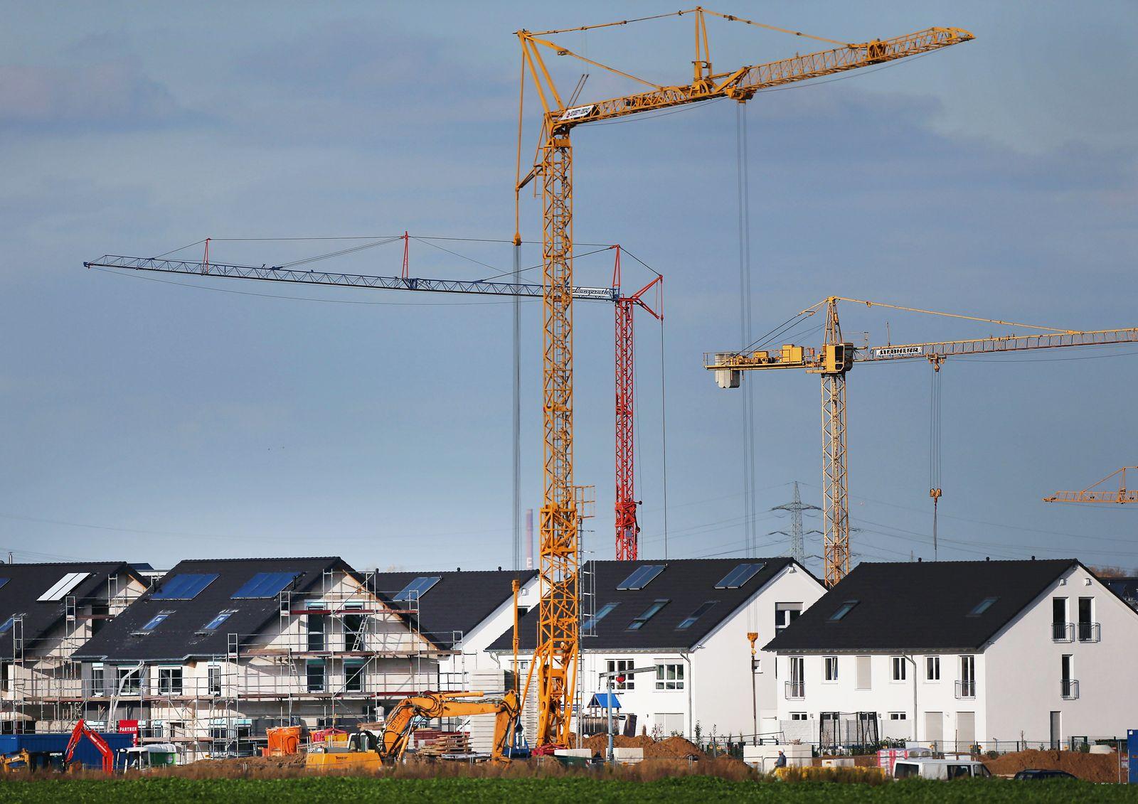 Hausbau / Wohnungsbau / Eigenheim / Hausbau / Immobilie / Eigenheimzulage / Baukindergeld / Immobilien / Neubausiedlungen