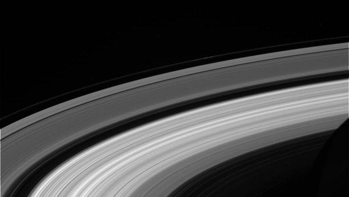 """""""Cassini""""-Fotos: Abschiedsgrüße vom Saturn"""