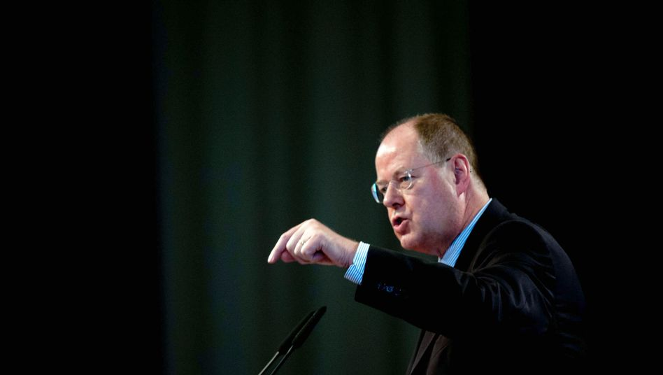SPD chancellor candidate Peer Steinbrück outlined his foreign policy priorities on Tuesday.