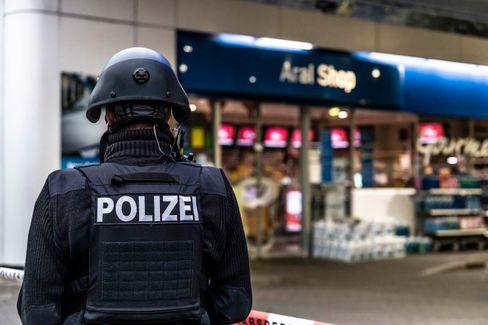 Polizist vor der Tankstelle in Idar-Oberstein: Getötet, weil Regeln durchgesetzt
