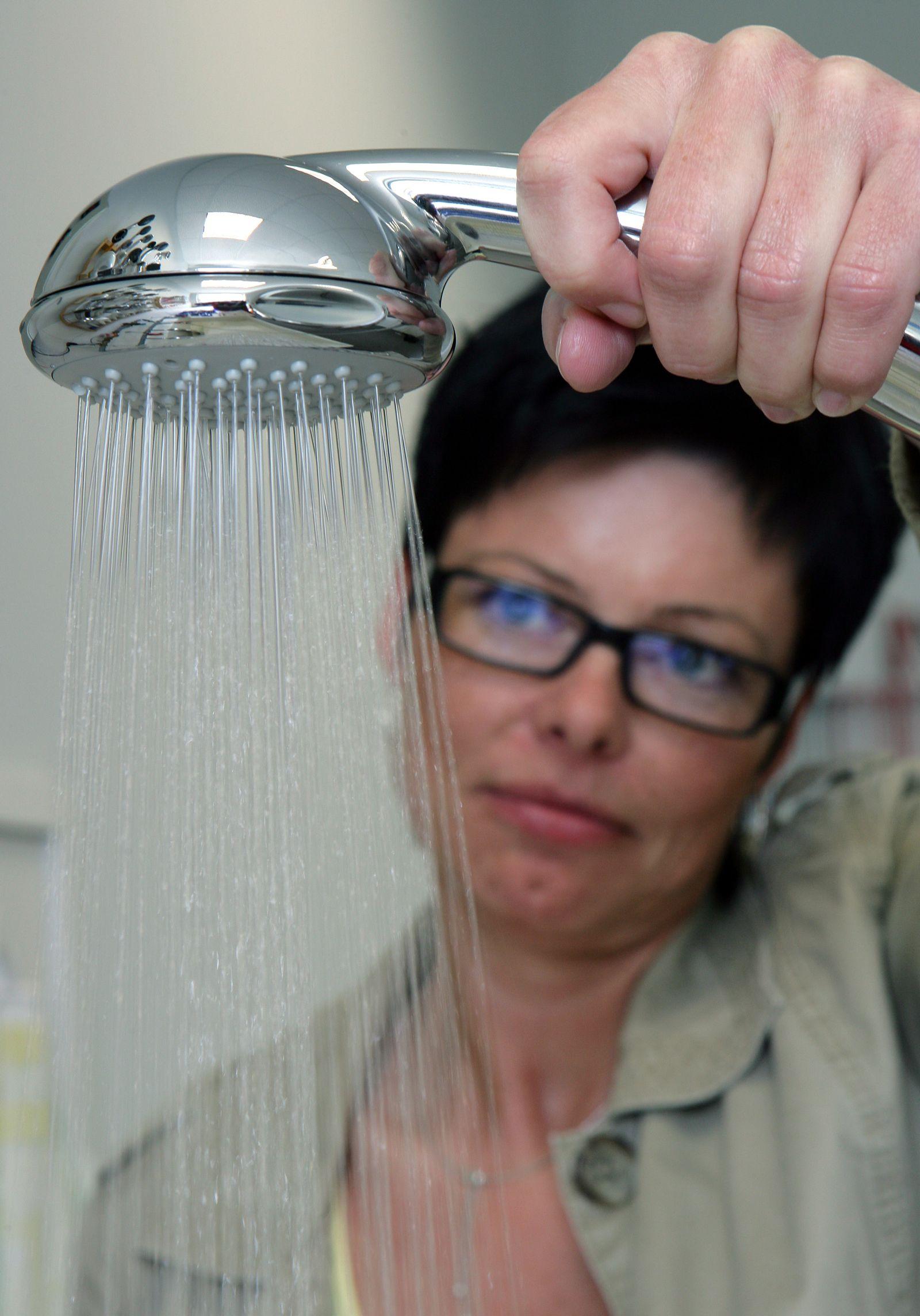 Wassersparen / Dusche