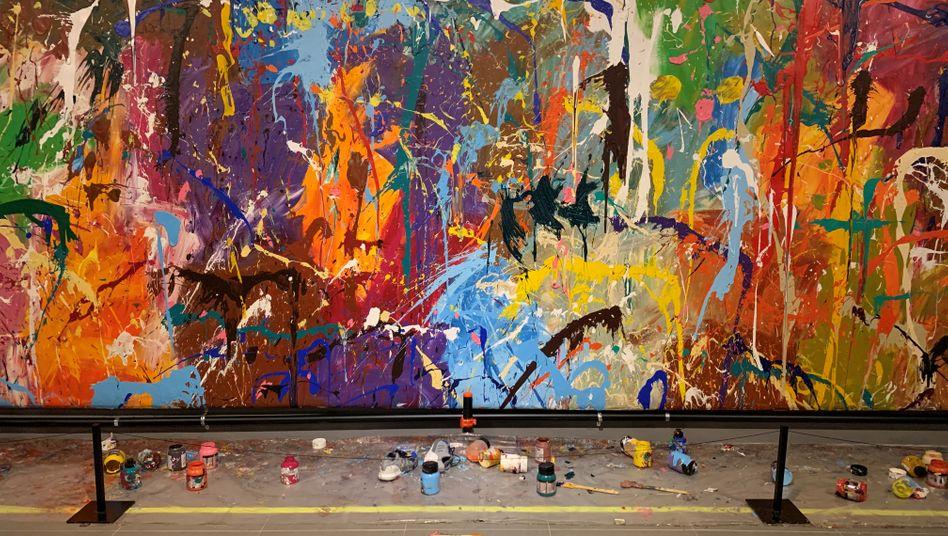 Das beschädigte Kunstwerk