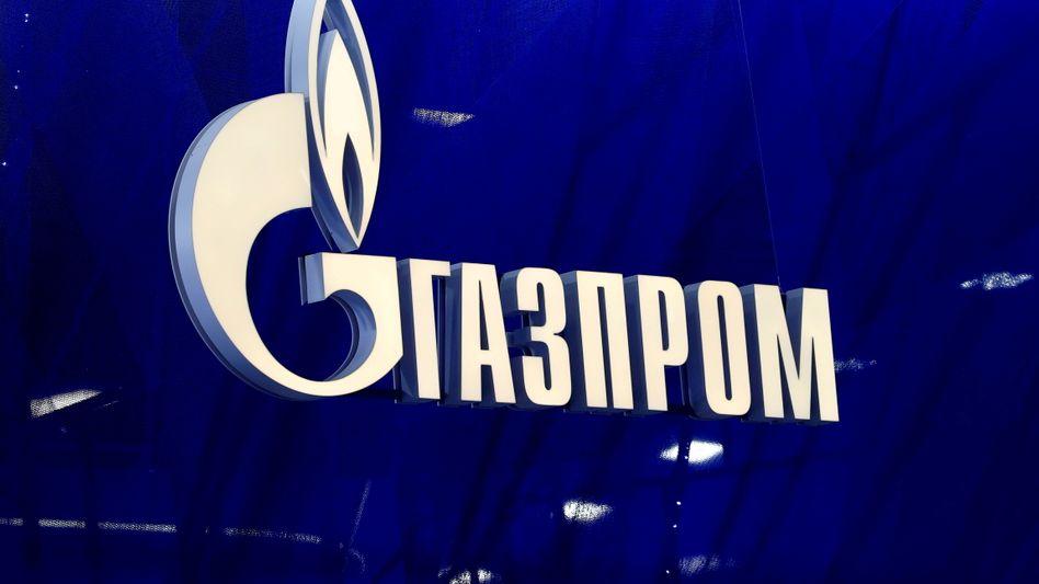 Gazprom-Logo: Der russische Konzern soll Ungarn unter Umgehung der Ukraine Erdgas liefern