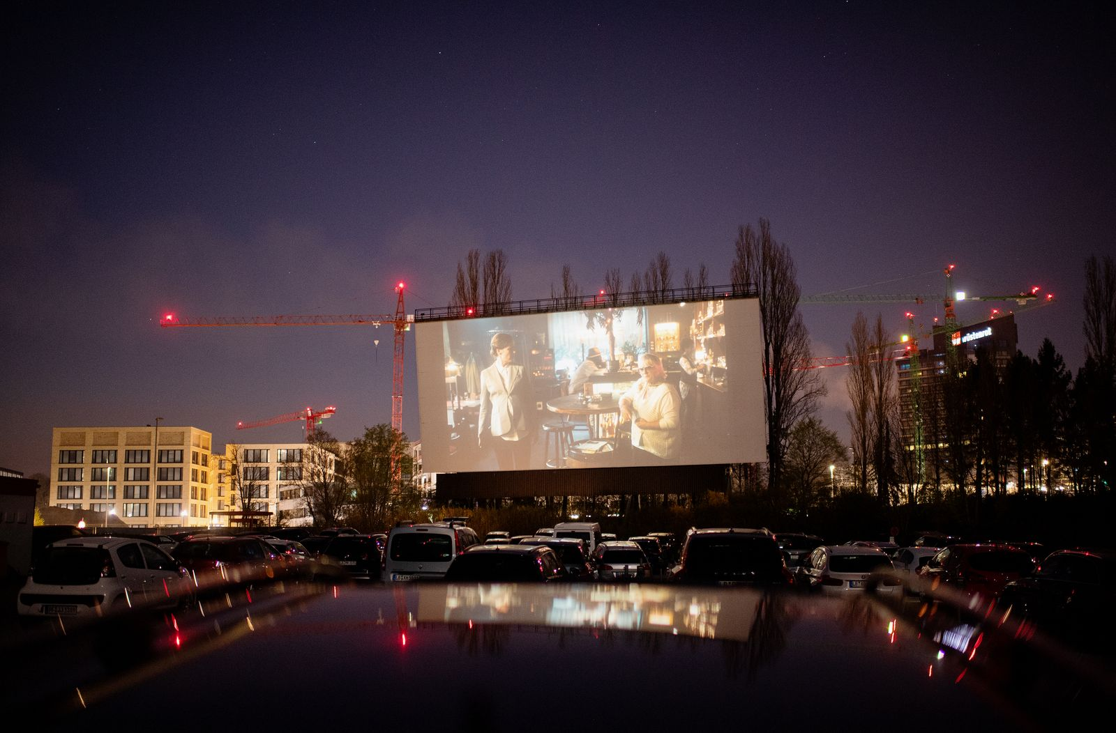 Drive-In Cinemas Have Booming Business During The Coronavirus Crisis