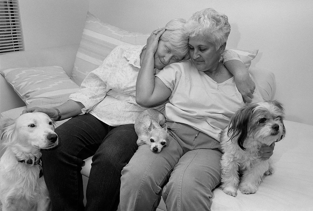 EINMALIGE VERWENDUNG Fotografie/ Sage Sohier: At Home With Themselves
