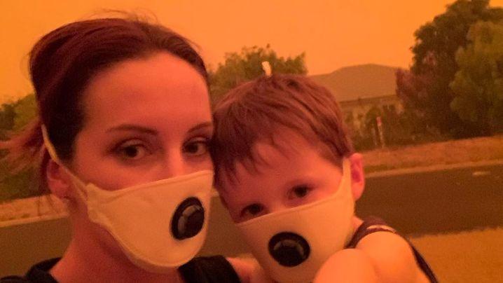 Verheerende Buschfeuer in Australien: Angst im Feuer
