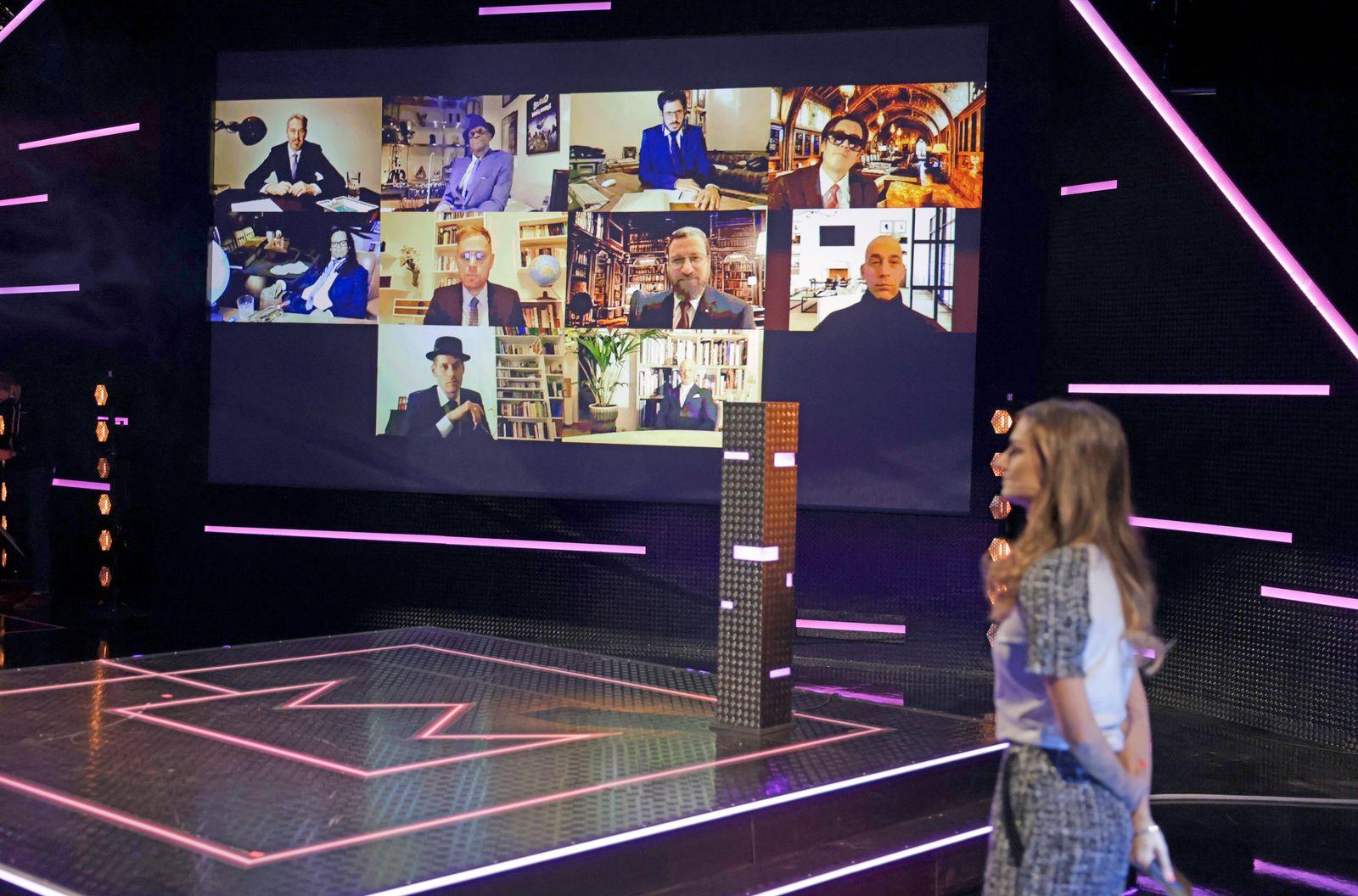Verleihung des Radiopreises «1Live Krone»