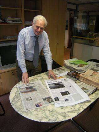 """""""International Herald Tribune""""-Redakteur Gottlieb: """"Zeitungen bieten den Vorzug der Auswahl"""""""