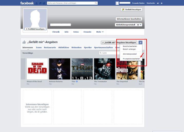 Privatsphäre bei Likes: Die Funktion hat Facebook gut versteckt