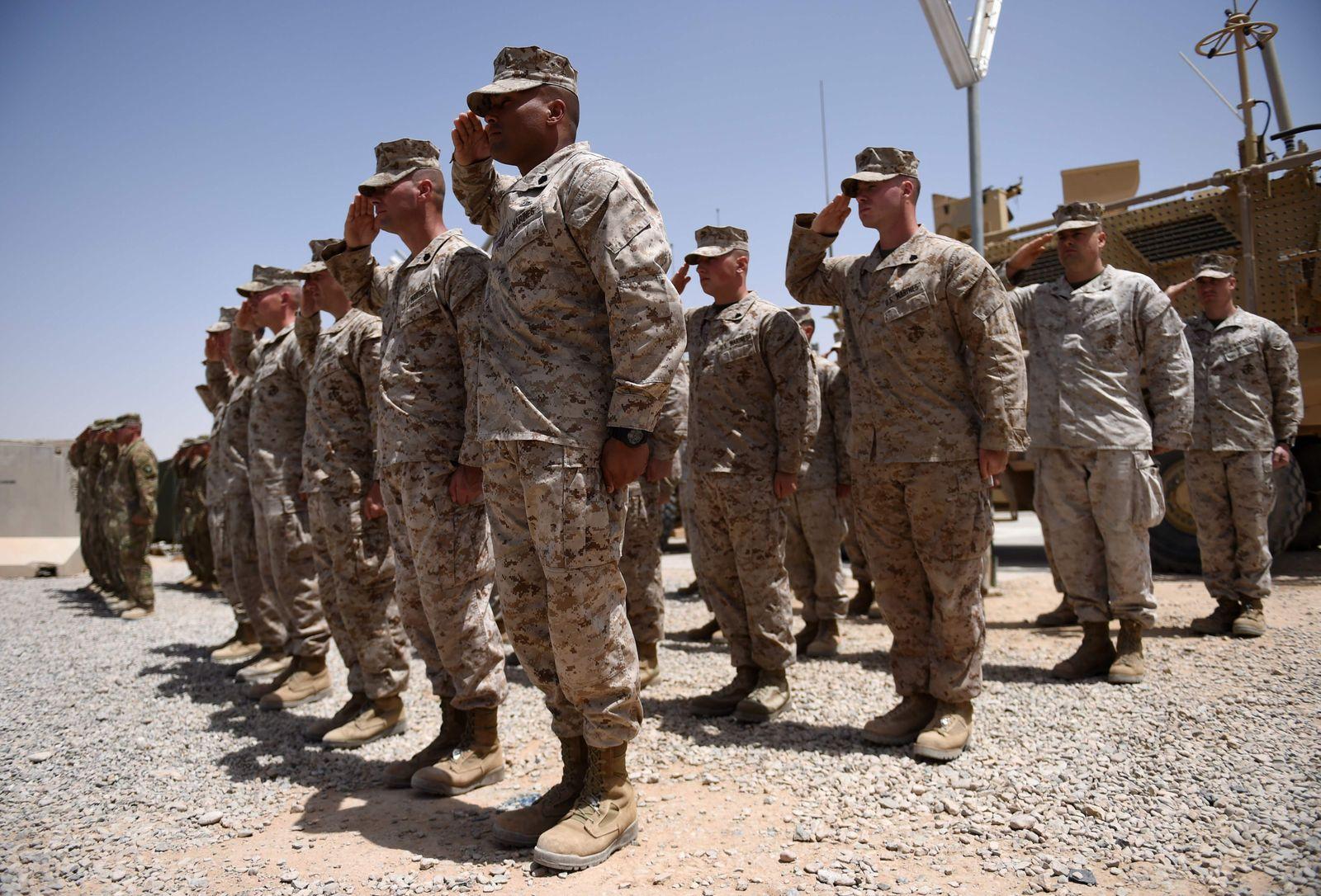 US Truppen Afghanistan
