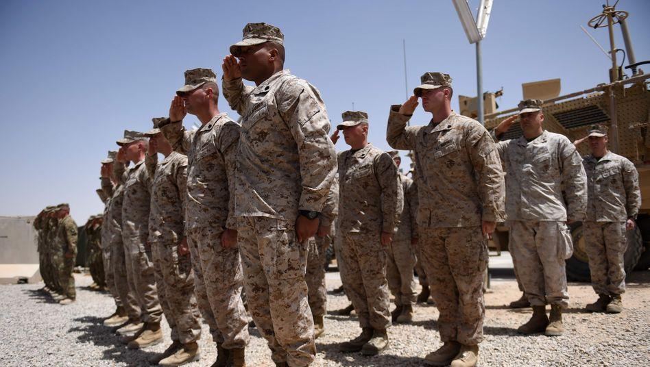 US-Soldaten in der afghanischen Provinz Helmand