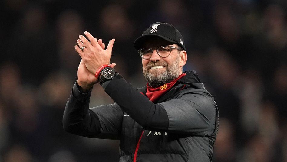 """Premier League: FC-Liverpool-Trainer Jürgen Klopp - """"Mehr, als ich ..."""
