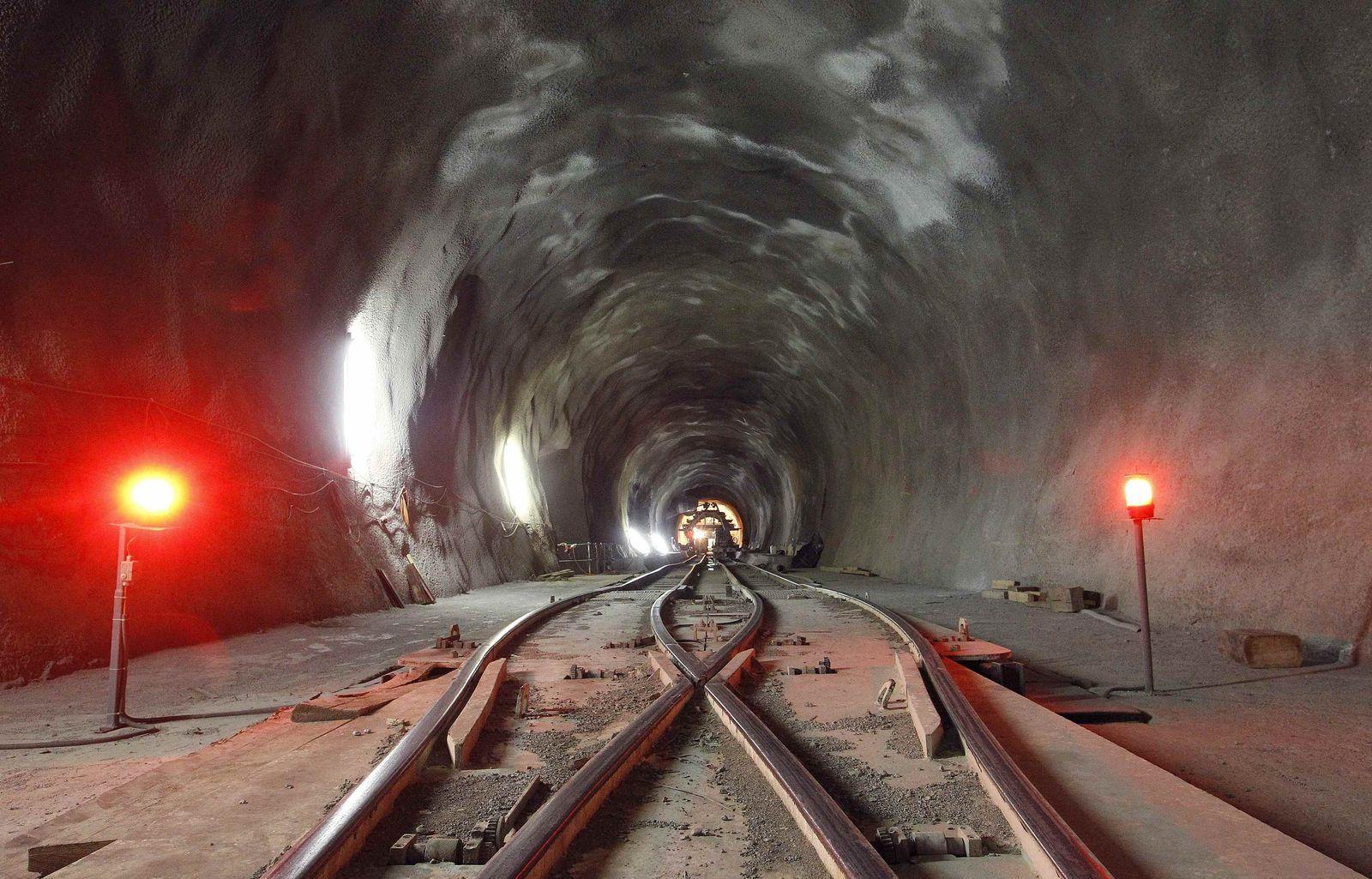 Gotthard Tunnel 2010