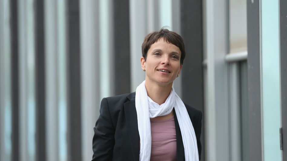 Sachsens AfD-Vorsitzende und Fraktionschefin Petry: Einladung für Pegida
