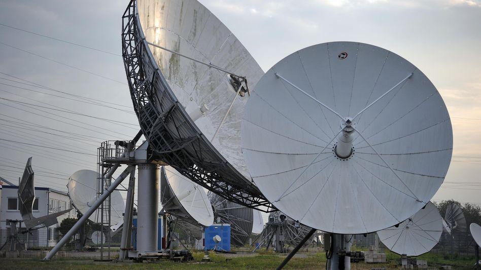 Satellitenantennen der Firma Stellar: Von britischem Geheimdienst gehackt