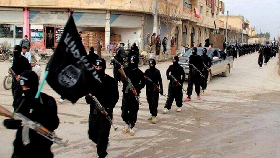 IS-Kämpfer im Irak: Einer der Anführer soll getötet worden sein