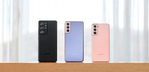 Samsung Galaxy S21: Samsungs Smartphones müssen abspecken