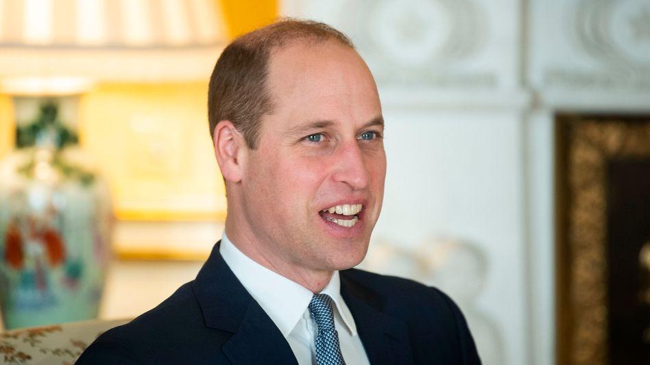Prinz William: Millionen für den Umweltschutz (Archiv)