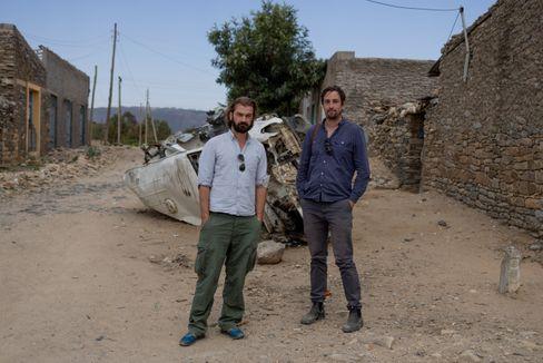 Afrikakorrespondent Fritz Schaap und Fotograf Daniel Etter