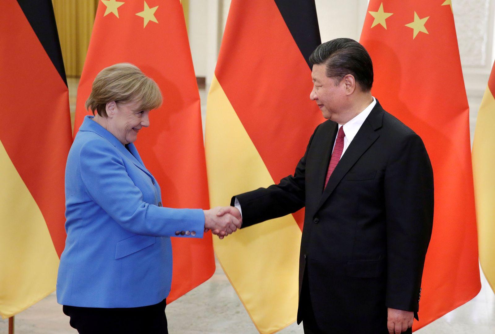 GERMANY-CHINA/