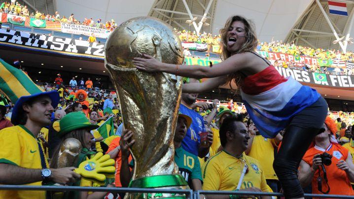 Viertelfinale in Port Elizabeth: Sneijder köpft Brasilien raus