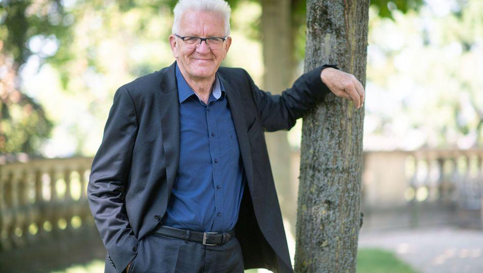 Seit 2011 Ministerpräsident in Baden-Württemberg: Grünenpolitiker Winfried Kretschmann
