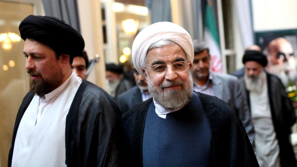 Irans nächster Präsident: Rohani zeigt sich nach seinem Wahlsieg