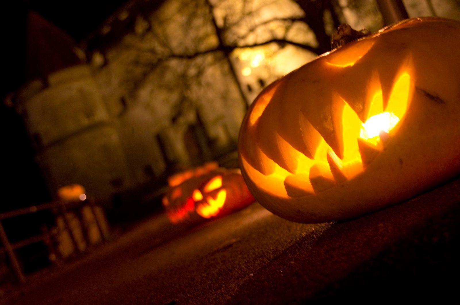 EINMALIGE VERWENDUNG Halloween / Heidenheim