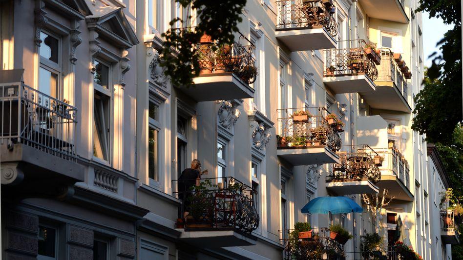 Mietshäuser in Hamburg