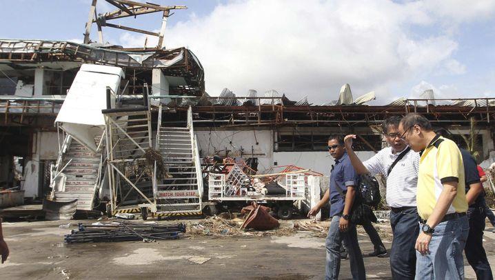 """Behörden auf den Philippinen: Überfordert von """"Haiyan"""""""