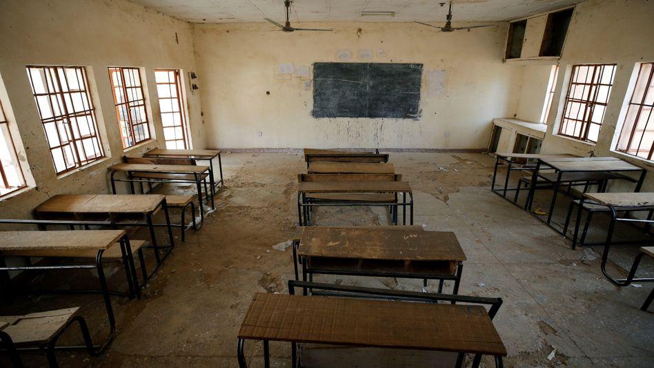 Ein leerer Klassenraum in der nigerianischen Stadt Dapchi (Symbolbild)