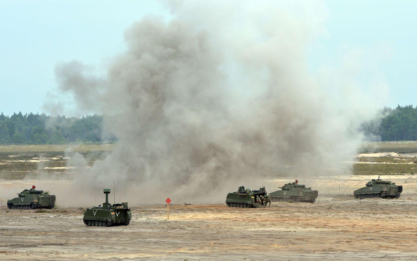 Nato Sagan Manöver Polen