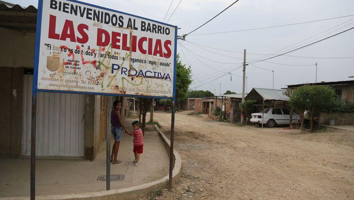 Dorf in Kolumbien: Wo Flüchtlinge Flüchtlinge aufnehmen