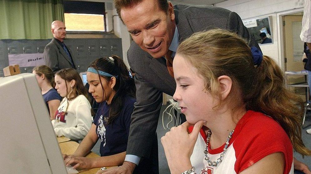 Schule in Kalifornien: Arnie zurück aus der Zukunft