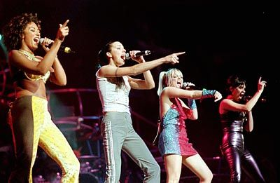 Popgruppe Spice Girls (1998): Traum aller Marketingstrategen