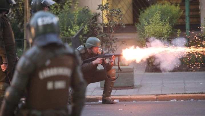 Protest in Chile: Rebellion gegen explodierende Preise