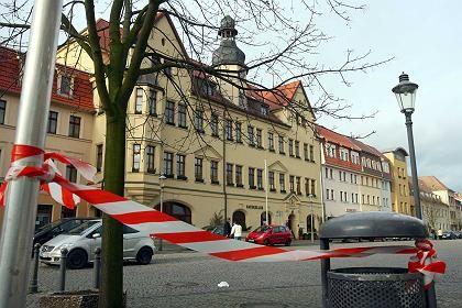 """Der Marktplatz von Hettstedt: """"Ein friedlicher Ort"""""""