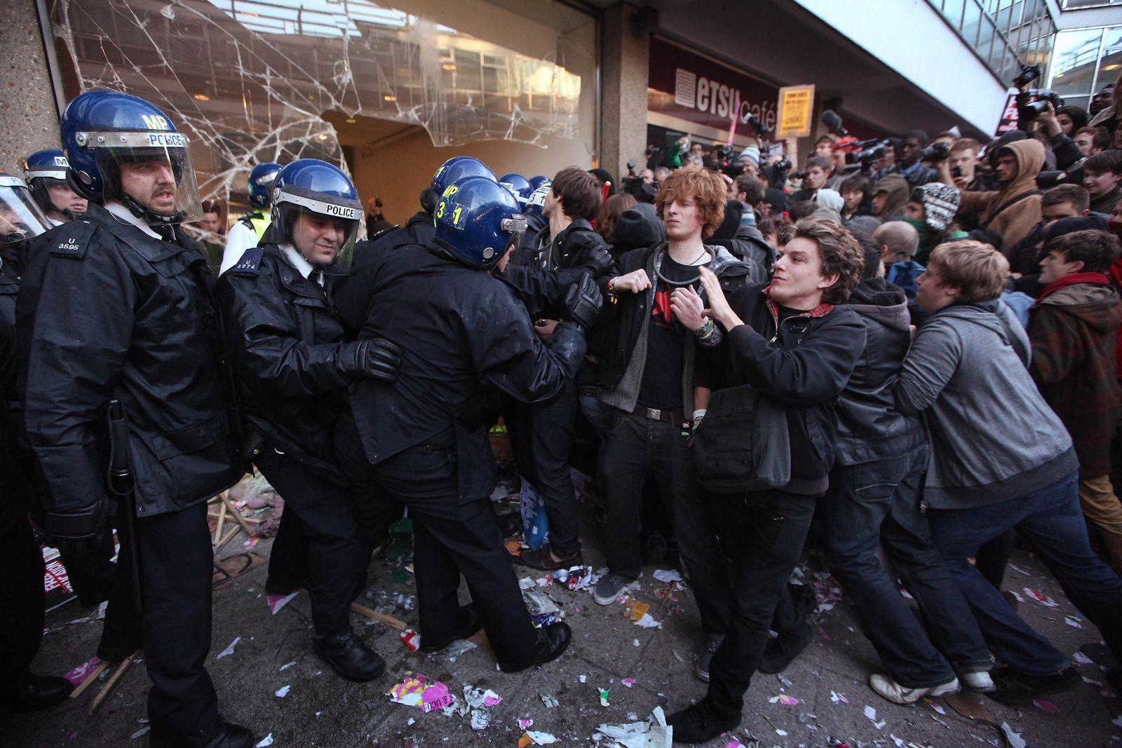 Studentenproteste London