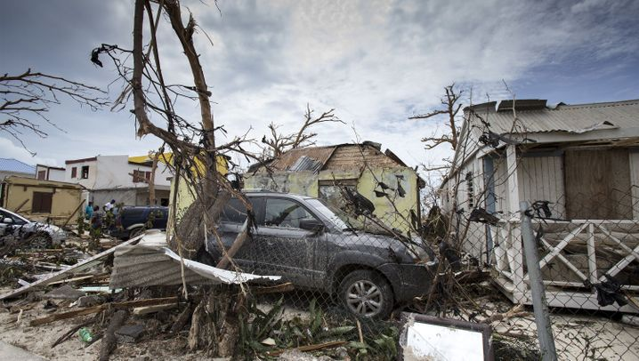 "Wirbelsturm: ""Irma"" wütet"