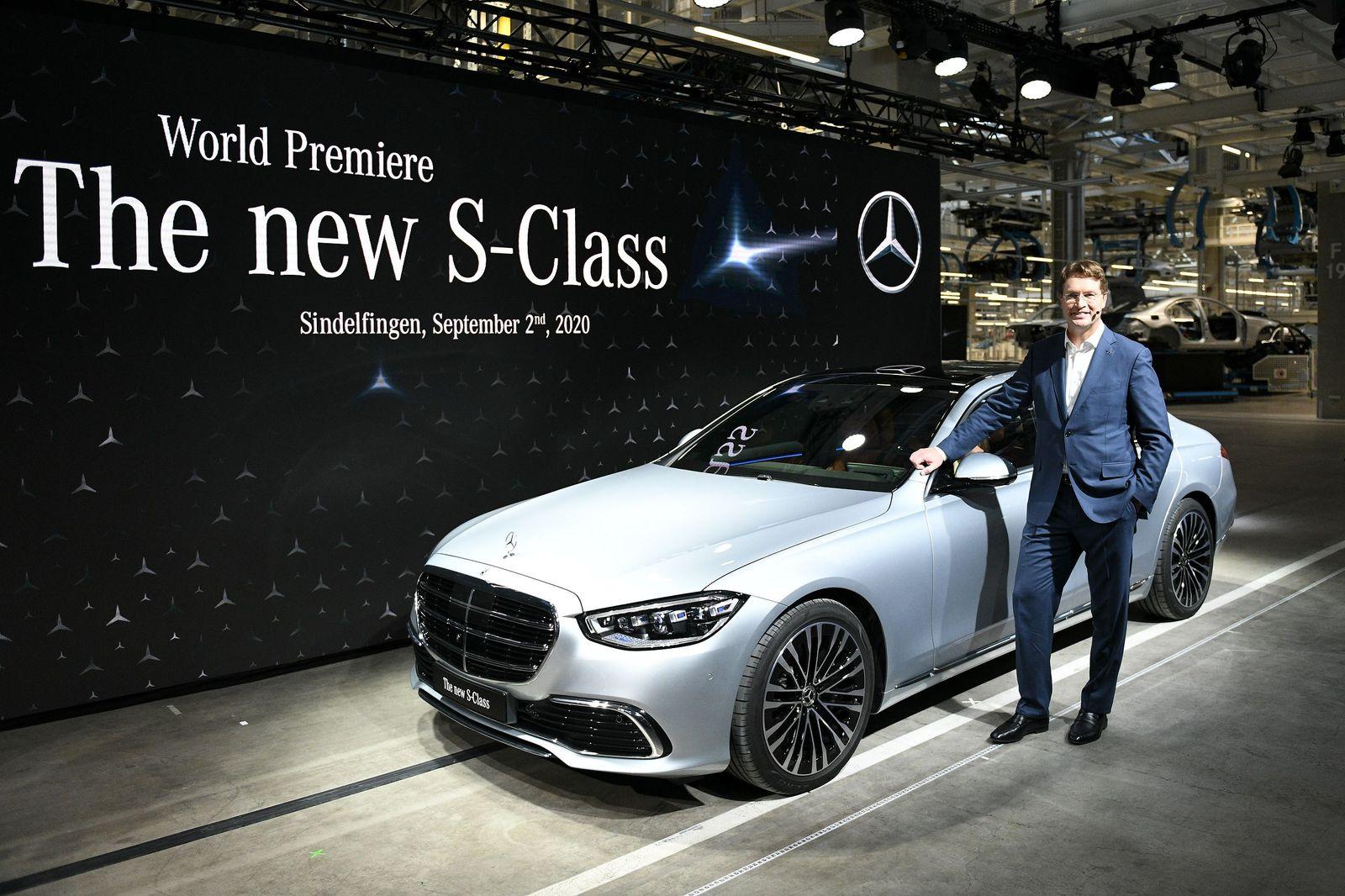 Mercedes Benz opens new factory line, Sindelfingen, Germany - 02 Sep 2020