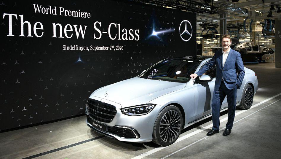 Neue S-Klasse von Mercedes-Benz