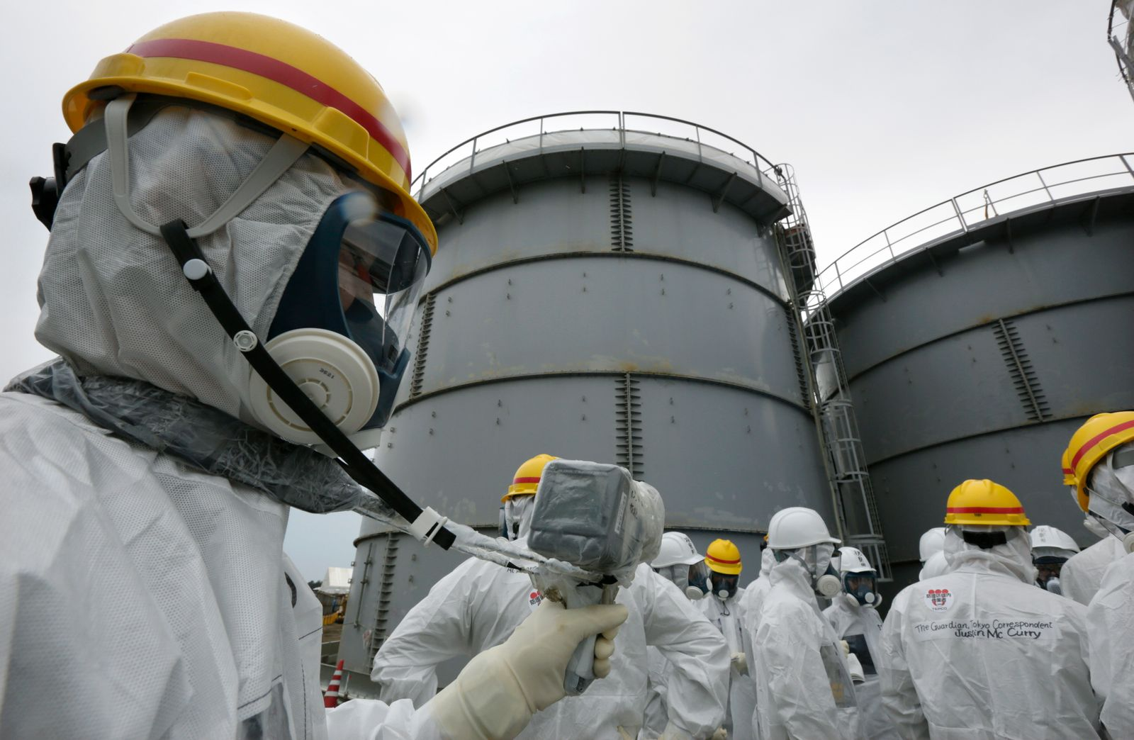 Japan to release water from Fukushima Daiichi nuclear plant into the ocean