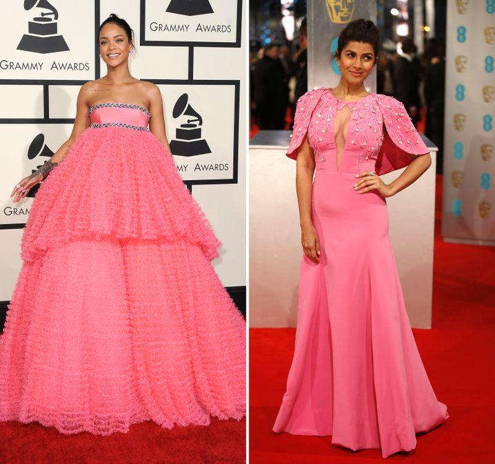 Rihanna bei den Grammys, Nimrat Kaur bei den Baftas