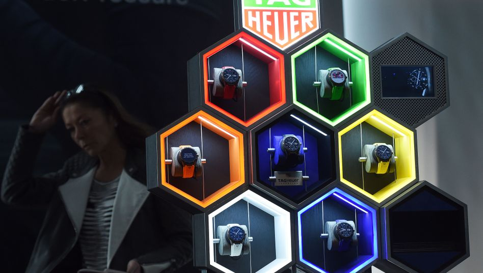 Luxus-Smartwatches von Tag Heuer