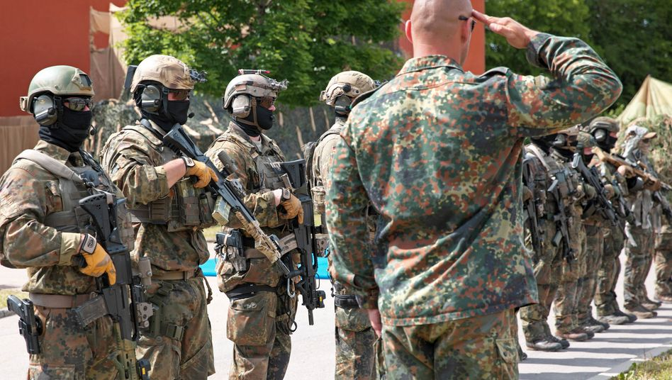 KSK-Soldaten der Bundeswehr