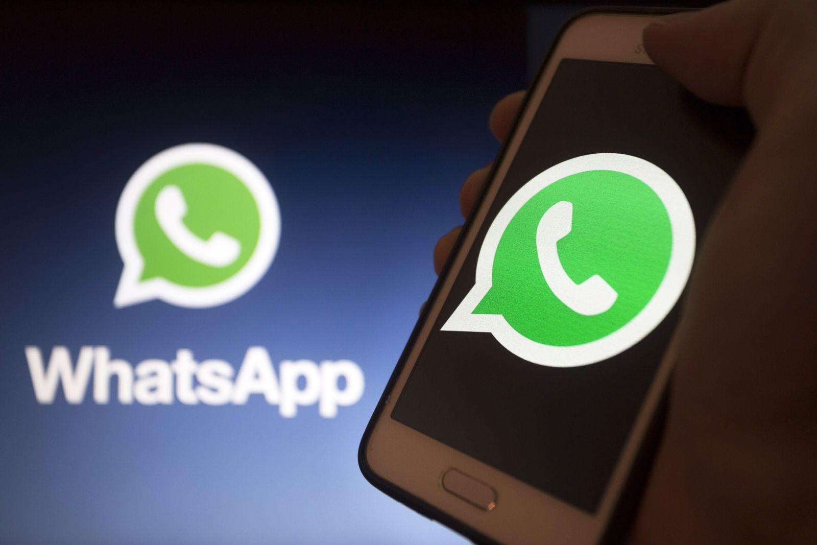 EINMALIGE VERWENDUNG WhatsApp logo
