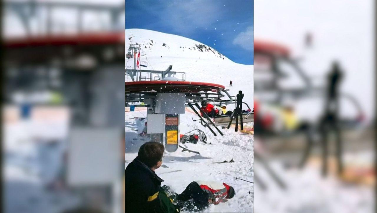 Skilift Ausser Kontrolle
