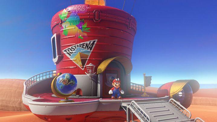 """Nintendo-Spiel: So sieht """"Super Mario Odyssey"""" aus"""